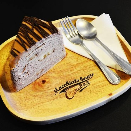 Nutella banana crepe cake