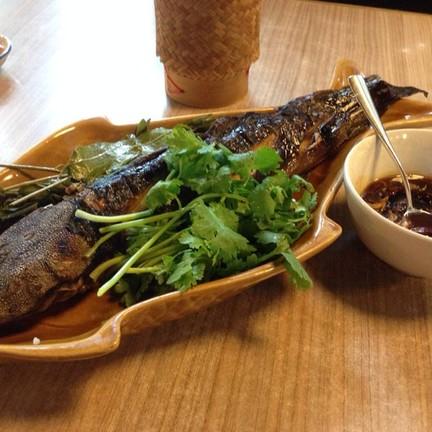 ปลาดุกย่างน้ำปลาหวาน