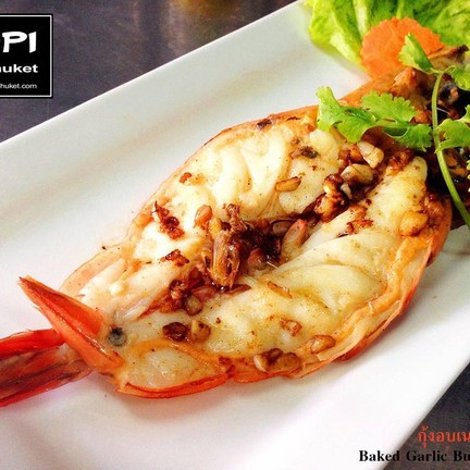 Butter Garlic Prawn @ KOPI DE PHUKET