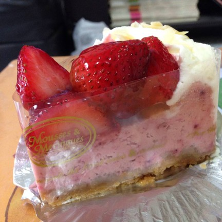Richy Strawberry Cheese Cake