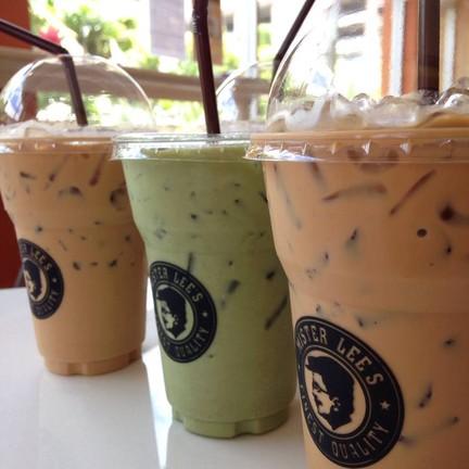 กาแฟ ชาเขียว&กาแฟสด