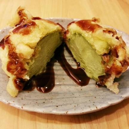 ☆☆☆☆☆มัทฉะเทมปูระ59.- อร่อยไม่เลี่ยน ผิวบางมาก หวานกำลังดี