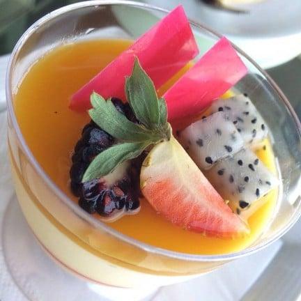 มูสเค้ก รส passion fruit