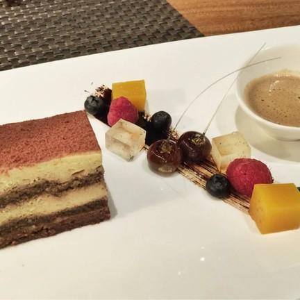 Tiramisu With Amaretto And Berry
