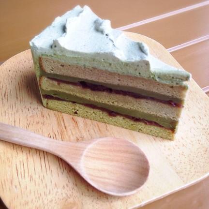 เค้กชาเขียวถั่วแดง