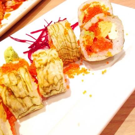 Tiger Sushi Roll
