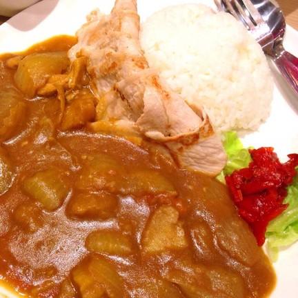 ข้าวแกงกระหรี่หมูดำคุโรบุตะ