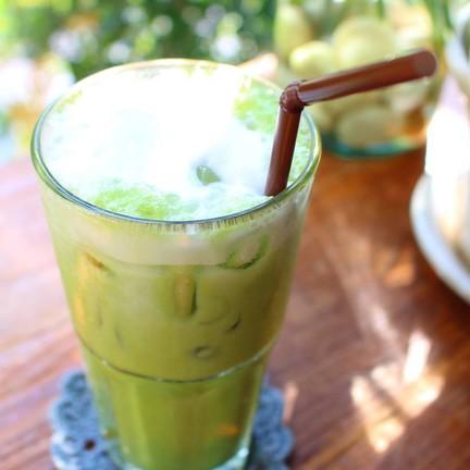 Iced Matcha Green Tea (ุ60 บาท)