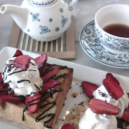 Honey Toast Strawberry