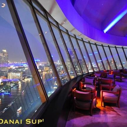 Three Sixty Lounge Millennium Hilton Bangkok Hotel