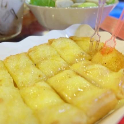 ขนมปังปิ้งเนยน้ำผึ้ง