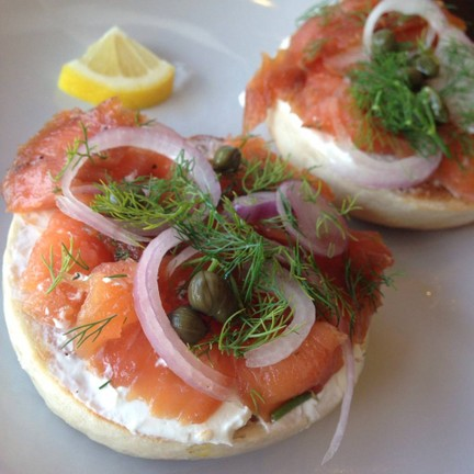 Lox, Stock And Bagel
