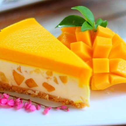 Mango Cheese Pie (ุ60 บาท)