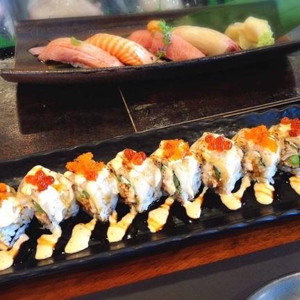 Sushi ที่สั่งมื้อนี้