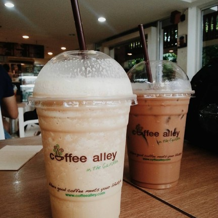 Coffee Alley in the Garden