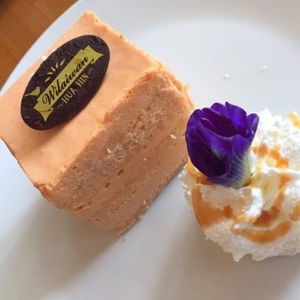 Thai Tea Mousse Cake