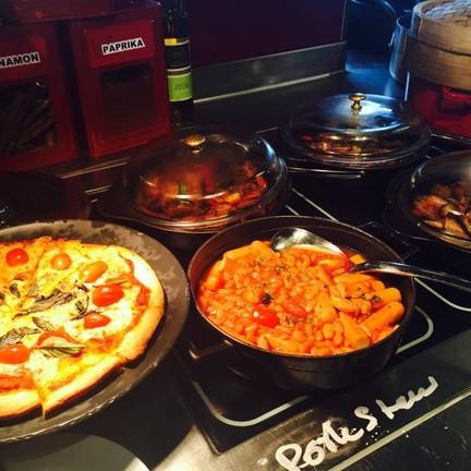 มุมอาหารอิตาเลียน และฝรั่ง
