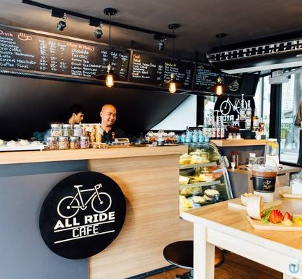 All Ride Cafe  Gateway เอกมัย