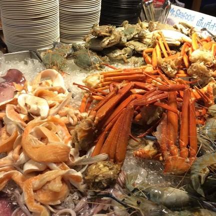 ปู ปลาแซลมอน