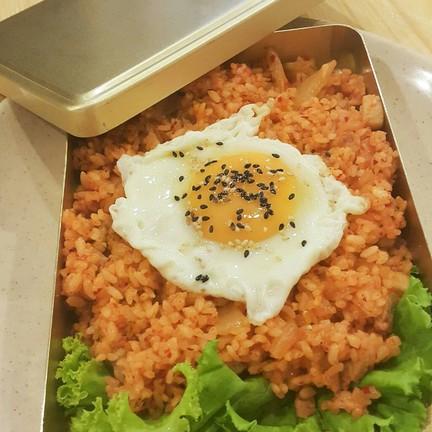 ข้าวผัดกิมจิ