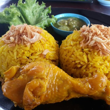 ข้าวหมกไก่