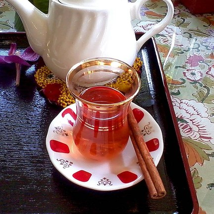 Turkish Pomegranate Cinnamon Tea