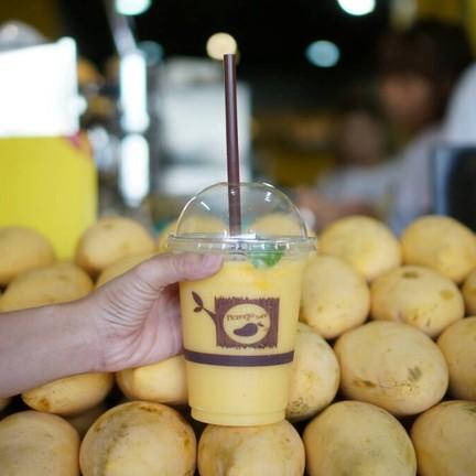 น้ำมะม่วงปั่น Mango frappe