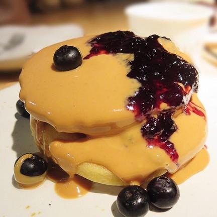 Blueberry Lava Pancake