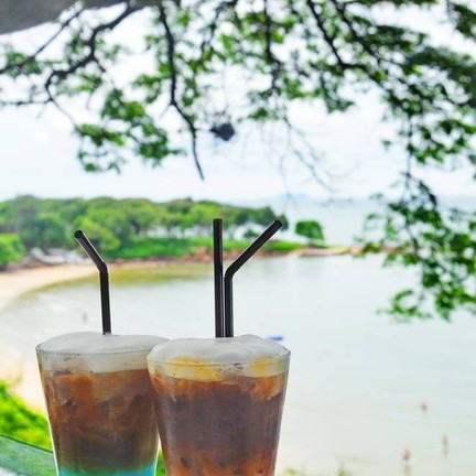 Iced Espresso คู่สีสันสวยงาม