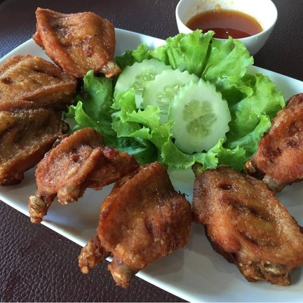 ไก่ทอดน้ำปลา อร่อยน่าทาน (ไม่เค็มนะ)