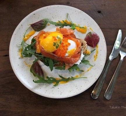 Egg Mikado แซลมอนไม่คาวครับ ไข่ปลาก็ไม่คาว