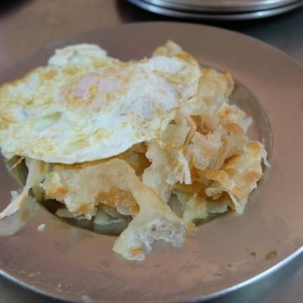 โรตีไข่ดาว