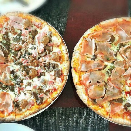 all these pizza is so good !!! highly recomment