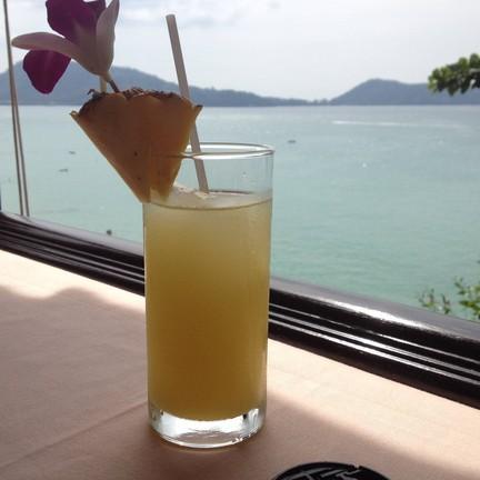 น้ำสับปะรด บรรยากาศดีมาก