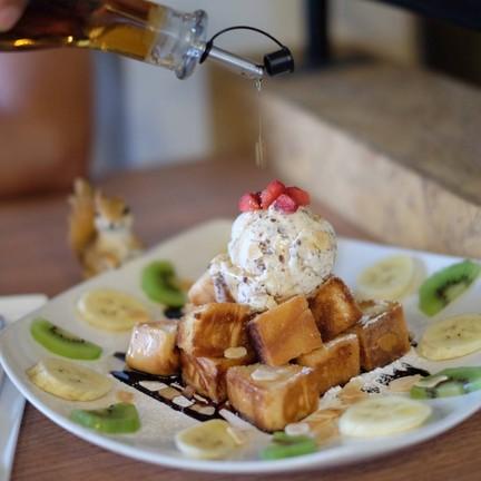 Honey Toast หวาน กรอบ อร่อย