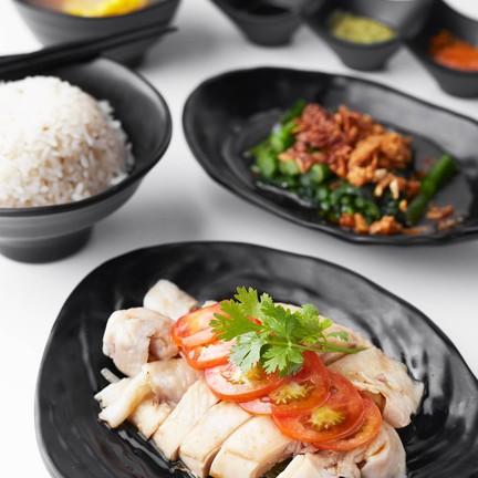 Hokdee Singapore Chicken Rice The Street รัชดา