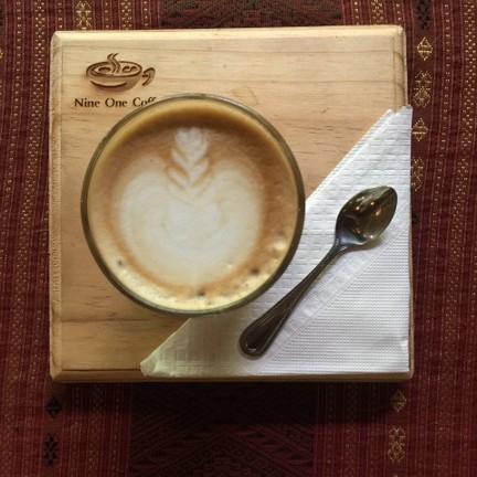 Light-Medium roasted organic coffee bean