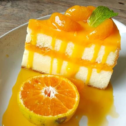 Orange soft cake : นุ่ม แน่น หอม เปรี้ยว หวาน ดีใช้ได้จ๊ะ