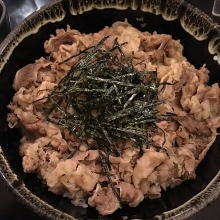 ข้าวหน้าเนื้อคินนิคุ 175฿++