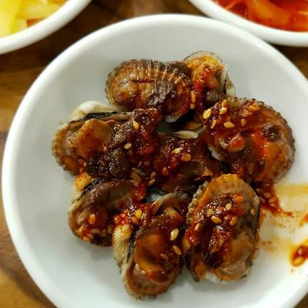 ราดซอสแบบเกาหลี เผ็ดๆอร่อยค่ะ
