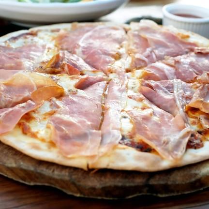 Parma Ham Pizza !!