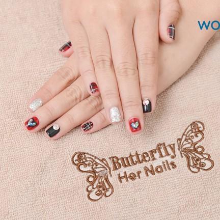 Butterfly Her Nails เดอะสตรีทรัชดา