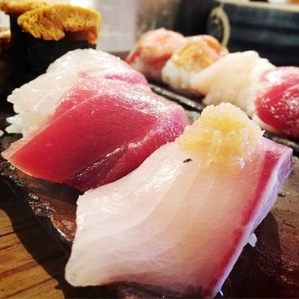 Sushi Endou Jyo-Maze Osaka fish market