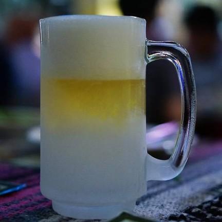 เบียร์วุ้นแก้วแช่