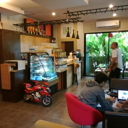 Ananya Cafe มทส. ประตู 4