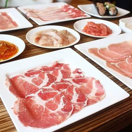 เนื้อหมูส่วนต่างๆ เสิร์ฟตามสั่ง