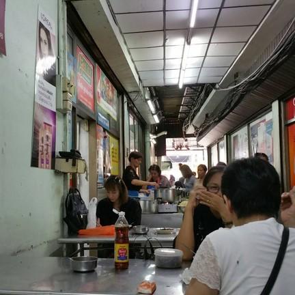 ขนมจีนน้ำยา ตรอกข้างห้างตั้งฮั่วเส็ง บางลำพู