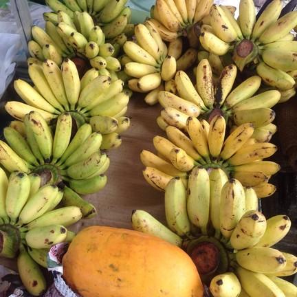 กล้วยทอด กะทะขาว
