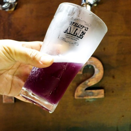 Stone Head Butterfly Pea (Wheat Beer) !!