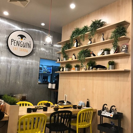 Penguin Eat Shabu Buffet Terminal 21